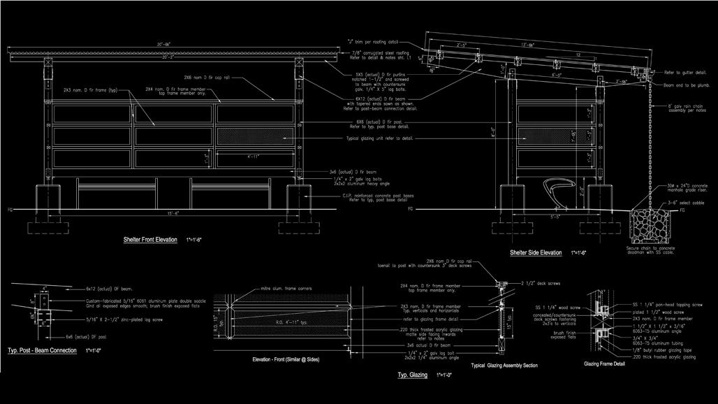 landscape shelter design bc