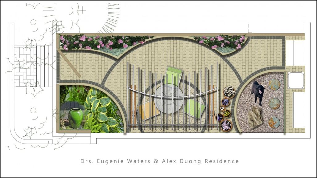 residential landscape design small lot ottawa