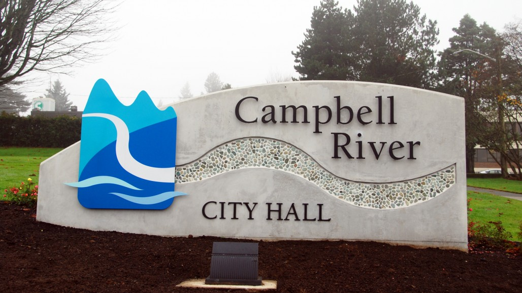 As-Constructed City Hall Sign