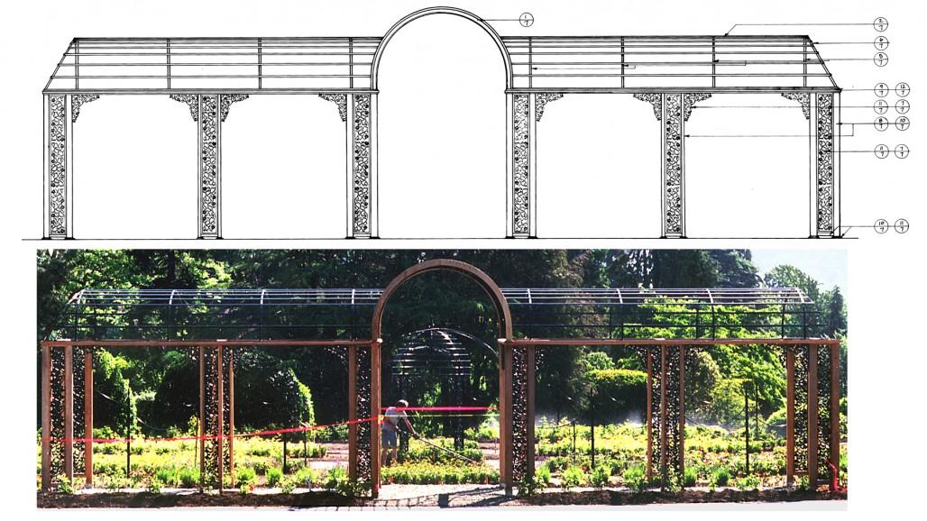 pergola design victoria bc landscape