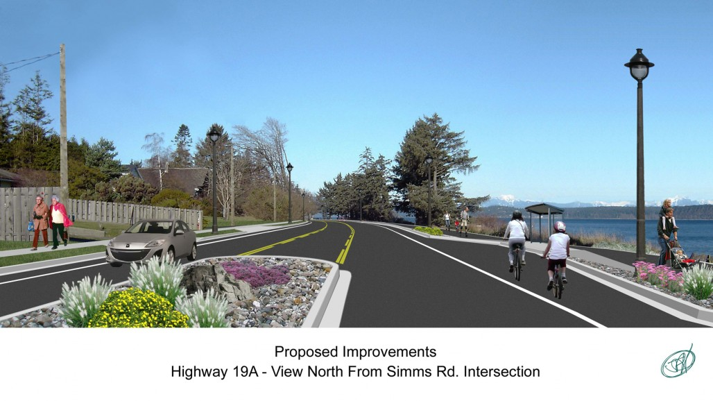 19A campbell river streetscape improvements