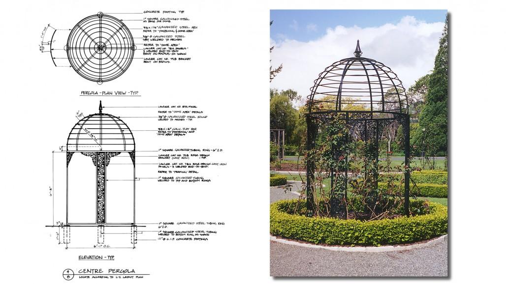 pergola design landscape victoria bc